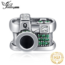 JewelryPalace Vintage Camera 925 Sterling Silver Beads Charms Original Fit Bracelet original Jewelry Women