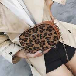 Leopard сумки с изображением флага для женщин сумки на плечо 2019 зимние плюшевые для женщин сумка цепи женские сумки маленькие девочки сумка NA-49