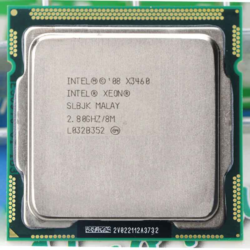 INTEL XEON X3460 CPU Quad-Core 2.8GHz 8M Socket LGA1156 Server CPU