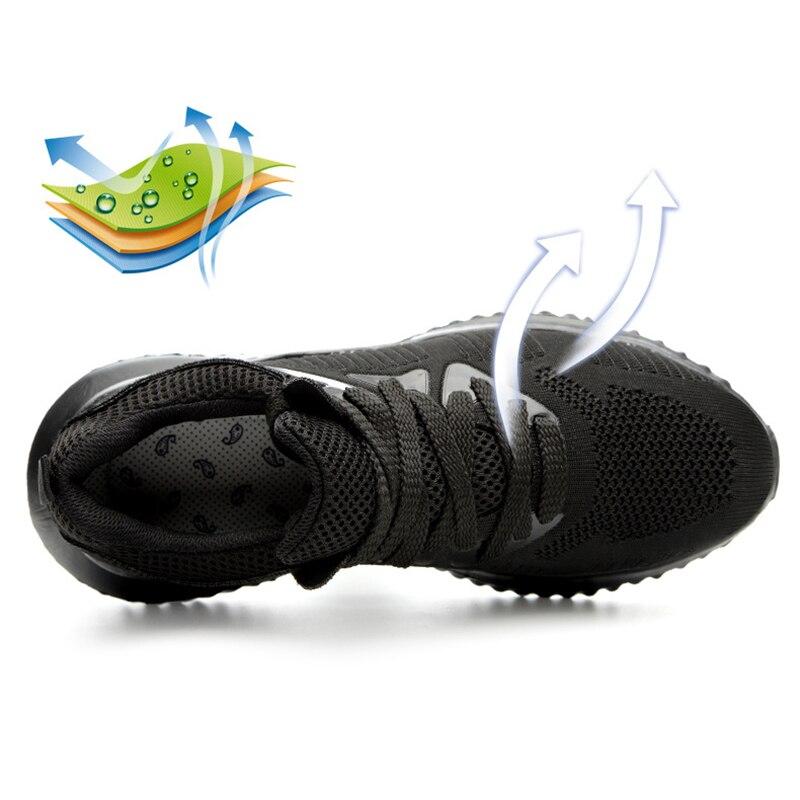 Рабочая защитная обувь со стальным носком в европейском стиле; обувь со стальным носком; безопасные Нескользящие мужские ботинки; Рабочая о...