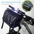 INBIKE H-9 Radfahren Fahrrad Top Vorne Rohr Tasche Wasserdicht Rahmen Tasche Große Kapazität MTB Fahrrad Pannier Fall Bike Zubehör