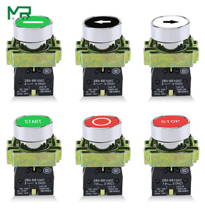XB2-BA4342 XB2-BA4331 XB2-BA3351XB2- BA4322 XB2-BA3311 XB2-BA3341 NO/NC Momentary flat push button with mark switch 22mm 1PCS