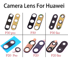 Original Rear Back Camera Lens Glass Replacement for Huawei P30 Pro Lite P20 with sticker