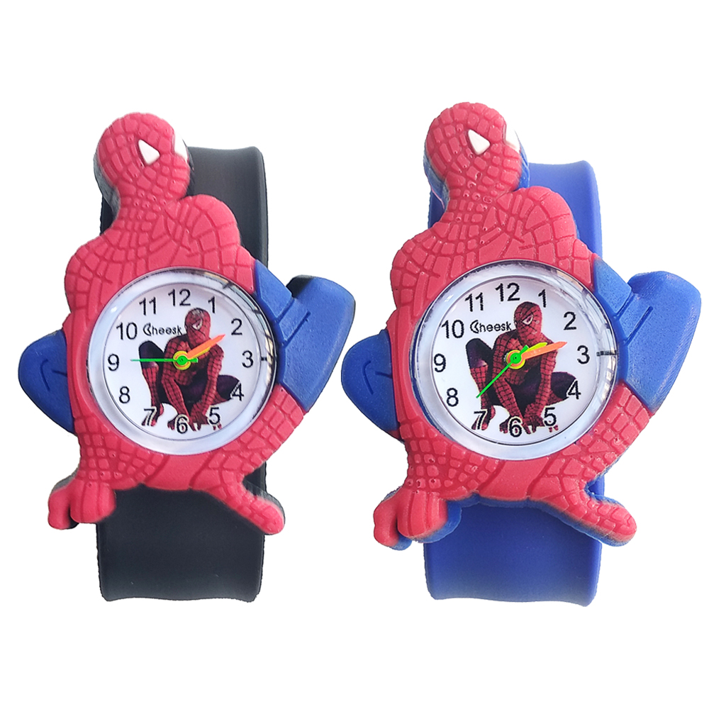 Low Price High Quality 3D Spiderman Kids Watches 2019 New Baby Toys Bracelet Children Watch For Child Boys Girls Christmas Gift