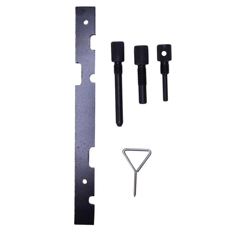 For Ford Petrol Zetec & Mazda Volvo Crank Cam Locking Plate & Pins Timing Tool Set