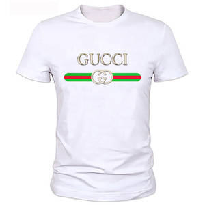 new summer guccy brand t shirt men high fashion t-shirts