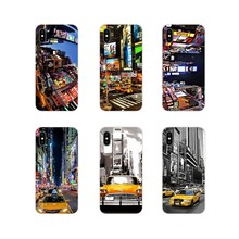 Accessories Covers New York City Times Square Taxi For LG G3 G4 Mini G5 G6 G7 Q6 Q7 Q8 Q9 V10 V20 V30 X Power 2 3 K10 K4 K8 2017(China)