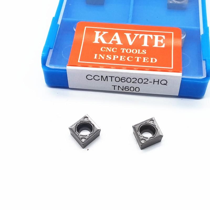 CCMT 060202 060204-24 HQ MT FG Cermet Grade carbure insère des outils de coupe de tour outils de tournage internes CCMT0602 outils de CNC lames