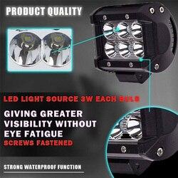 Żarówki LED ze stali nierdzewnej 10-30V DC 6500K białe akcesoria odporne na zachlapanie