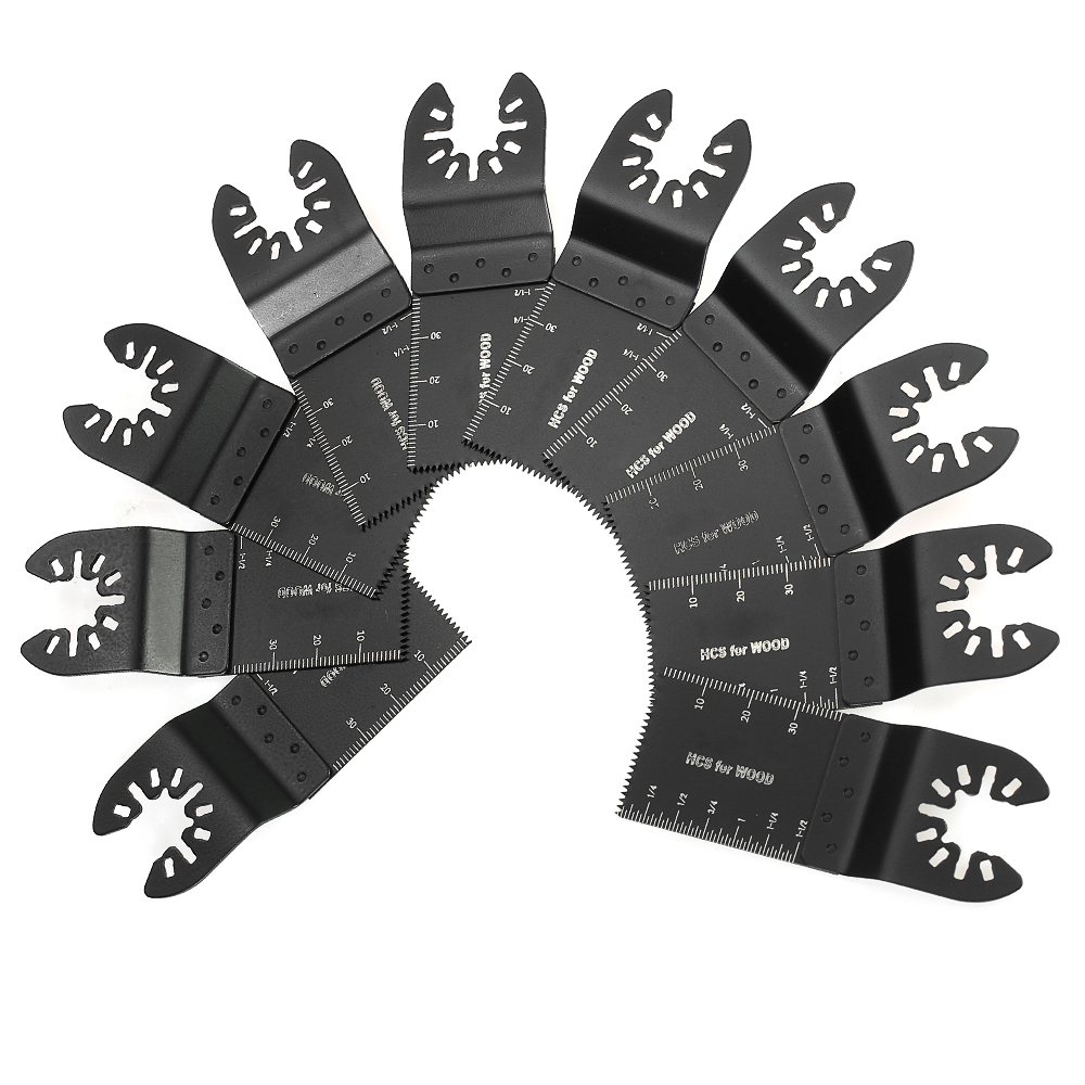 10pcs Multifunctional High Carbon Steel Saw Cut Blade 34mm Power Tools Repair Machine Accessories Set
