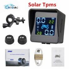 Alarm-System Motor-Tire Temperature-Monitoring External-Sensors Pressure-Tyre USB