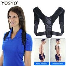 YOSYO orthèse ceinture de soutien réglable dos Posture correcteur clavicule colonne vertébrale dos épaule lombaire Posture Correction