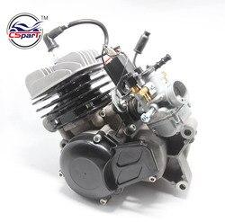 49CC luftgekühlter Motor für KTM 50 SX 50 SX PRO SENIOR Dirt Pit Kreuz Bike + Vergaser
