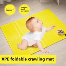 Dadaism Baby Play Mat Crawling Mat Double Surface Baby Carpet Folding Activity Gym Infant Toy Early Education Cushion Outdoor Wa(China)