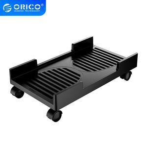 ORICO ordenador Torre CPU soporte con ruedas de bloqueo de frenado soporte estable para carcasas de ordenador PC soporte ajustable impermeable móvil