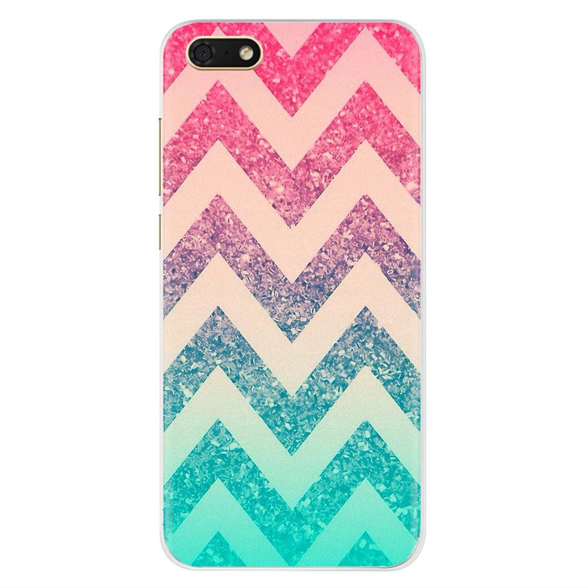 Pretty Silicone Phone Case For Motorola Moto G G2 G3 X4 E4 E5 G5 G5S G6 Z Z2 Z3 C Play Plus Colorful Color Waves Stripe Pattern