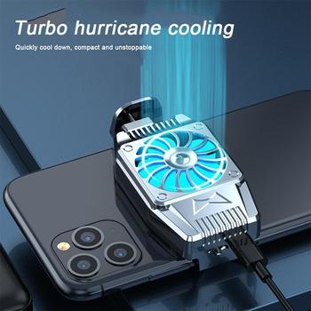 Universal Mini Mobile Phone Cooling Fan Radiator Turbo Hurricane Game Cooler Cell Phone Cool Heat Sink For IPhone/Samsung/Xiaomi 1