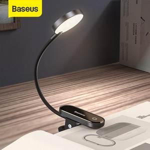 Baseus Led Desk Lamp Clip-On Night Light Reading Computer Keyboard illuminated Eye Protection