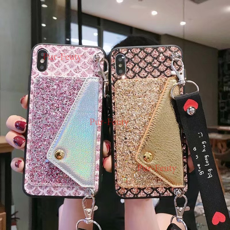 Phone <font><b>Case</b></font> High Quality Bling Glitter stand cover For <font><b>Samsung</b></font> Galaxy A750 A730 <font><b>A7</b></font> A8Plus SM-<font><b>A730F</b></font> A9 <font><b>2018</b></font> A9s phone <font><b>case</b></font> image