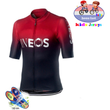 new INEOS childrens bicycle clothing breathable mountain bike riding suit cycling shirt Jersey