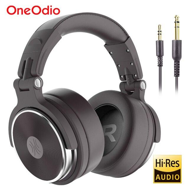 Oneodio Faltbare Über Ohr Verdrahtete Kopfhörer Für Telefon Computer Professional Studio Pro Monitore Musik DJ Headset Gaming Kopfhörer
