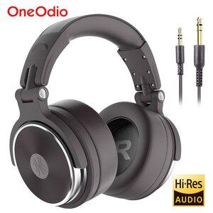 Image 1 - Oneodio katlanabilir aşırı kulak kablolu kulaklık telefon bilgisayar profesyonel stüdyo Pro monitörler müzik DJ kulaklık oyun kulaklık