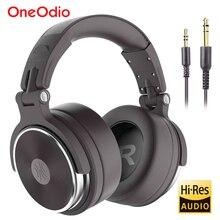 Oneodio מתקפל מעל אוזן קווית אוזניות עבור טלפון מחשב מקצועי סטודיו פרו צגים מוסיקה DJ אוזניות משחקי אוזניות