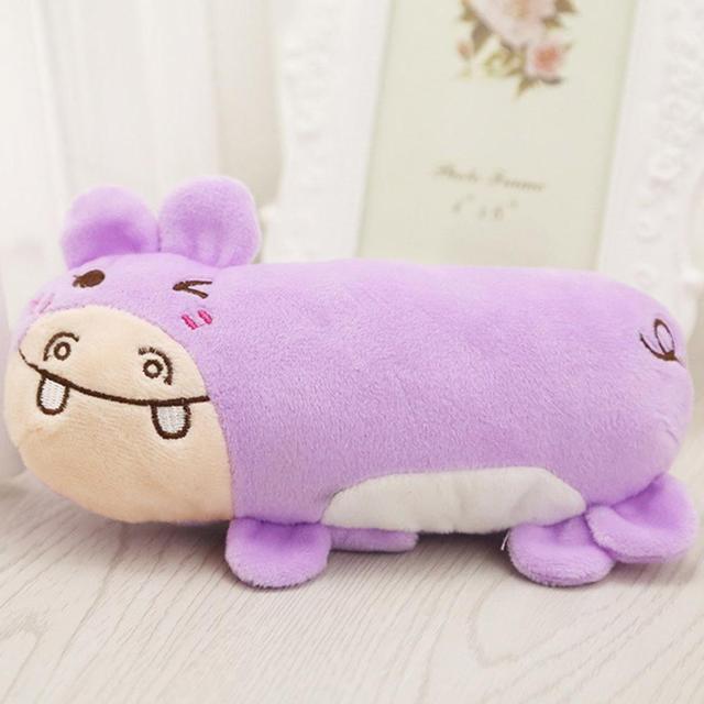 cartoon hippo bear frog rabbit plush vocal toy pet hug pillow pet supplies dog toy cat