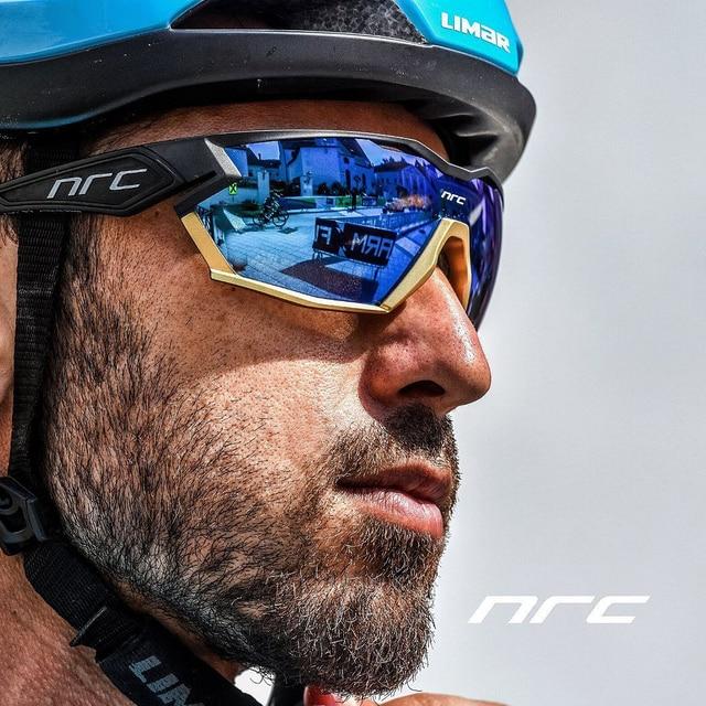 2021 NRC P-Ride Photochromic Cycling Glasses man Mountain Bike Bicycle Sport Cycling Sunglasses MTB Cycling Eyewear woman 1