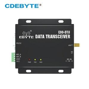 Image 1 - SX1262 SX1278 לורה 5 W 433MHz RSSI ממסר רדיו משדר מודול E90 DTU 400SL37 RS232 RS485 אלחוטי העברת נתונים מודם