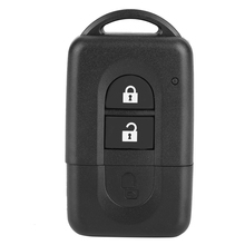 цена на 2 Button Car Key Case Folding Remote Key Fob Shell Case With Lock Catch Replacement For Nissan Anti-Scratching Key Cover