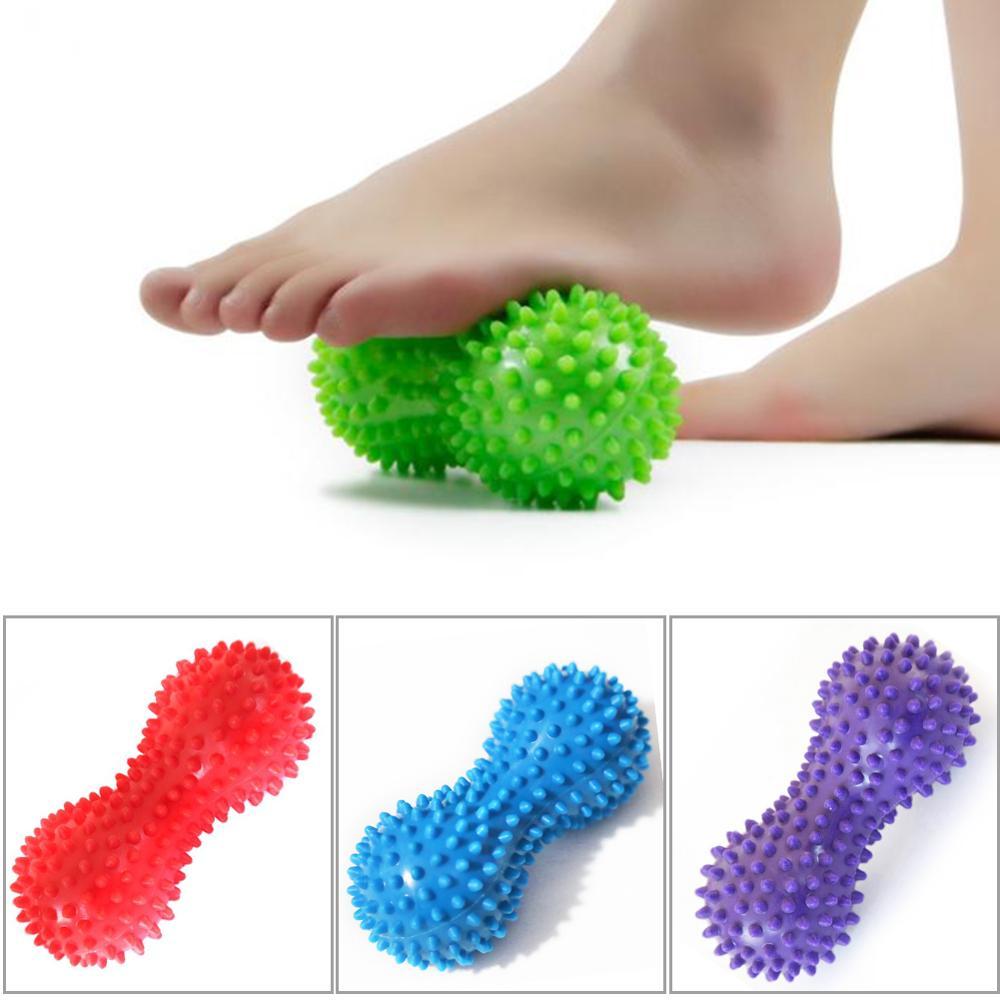 15 см, 5 цветов, массажный мяч, колючий триггер, рельефная мышца, боль, стресс, арахисовый мяч, терапия, забота о здоровье, гимнастический РЕЛЕК...