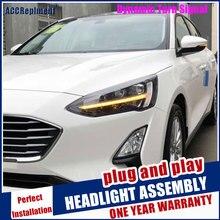 Scheinwerfer Für Ford Focus 2019 LED/Xenon Abblendlicht Fernlicht LED tagfahrlicht licht sequential blinker 1 paar