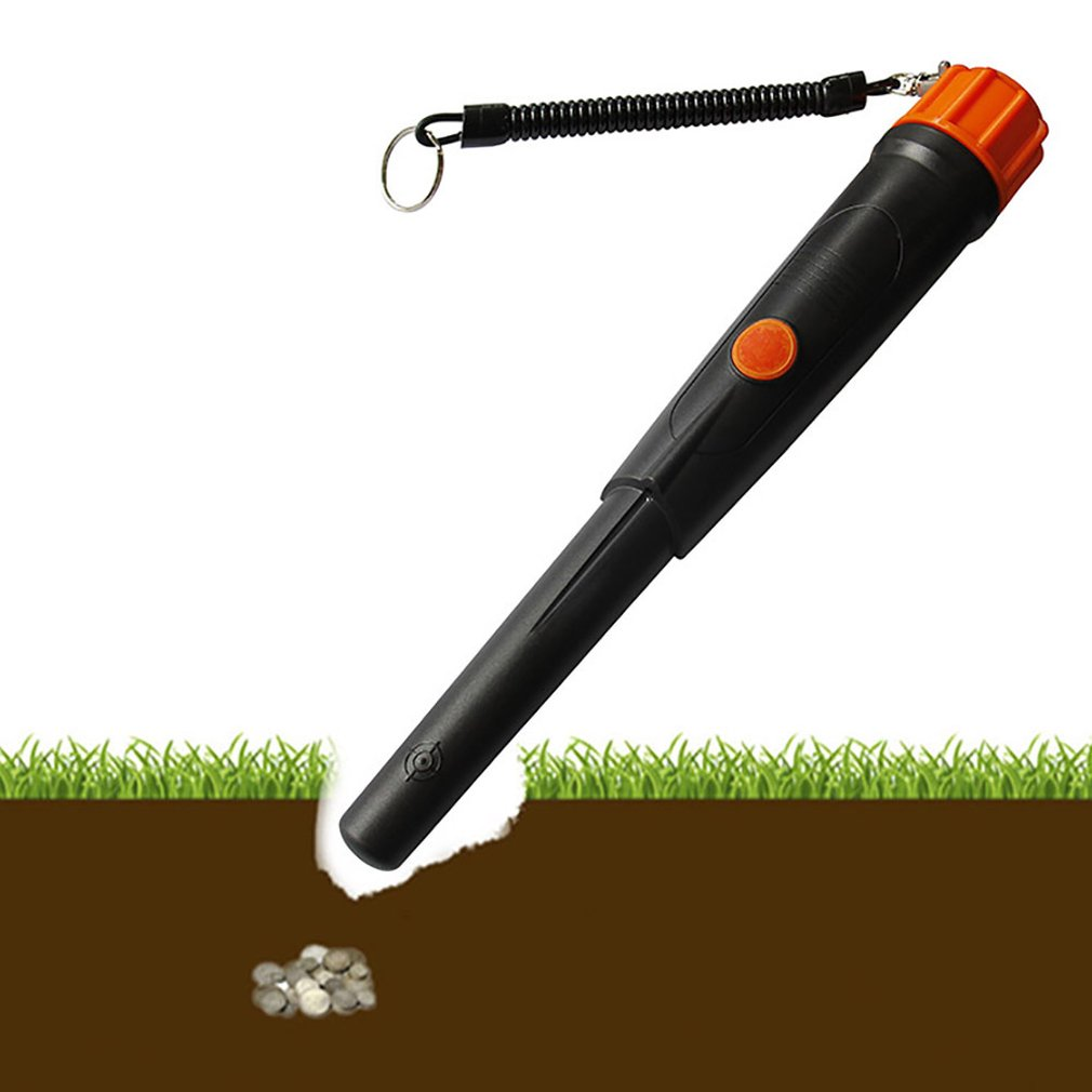 Metal Handheld Detector Waterproof Head PointerPin Detector Underground Metal Detector Treasure Hunting Detector