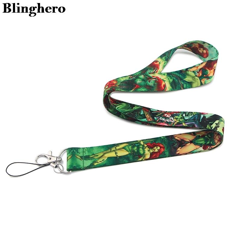 Blinghero Cartoon Anime Keys ID Card Gym Mobile Phone Straps USB Badge Holder DIY Phone Hang Rope Lanyard ZC0145