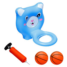 Pool-Toys Swimming-Pool Water-Sports Outdoor Children's Fun for D50 Basketball-Toy Convenient-Ball-Frame