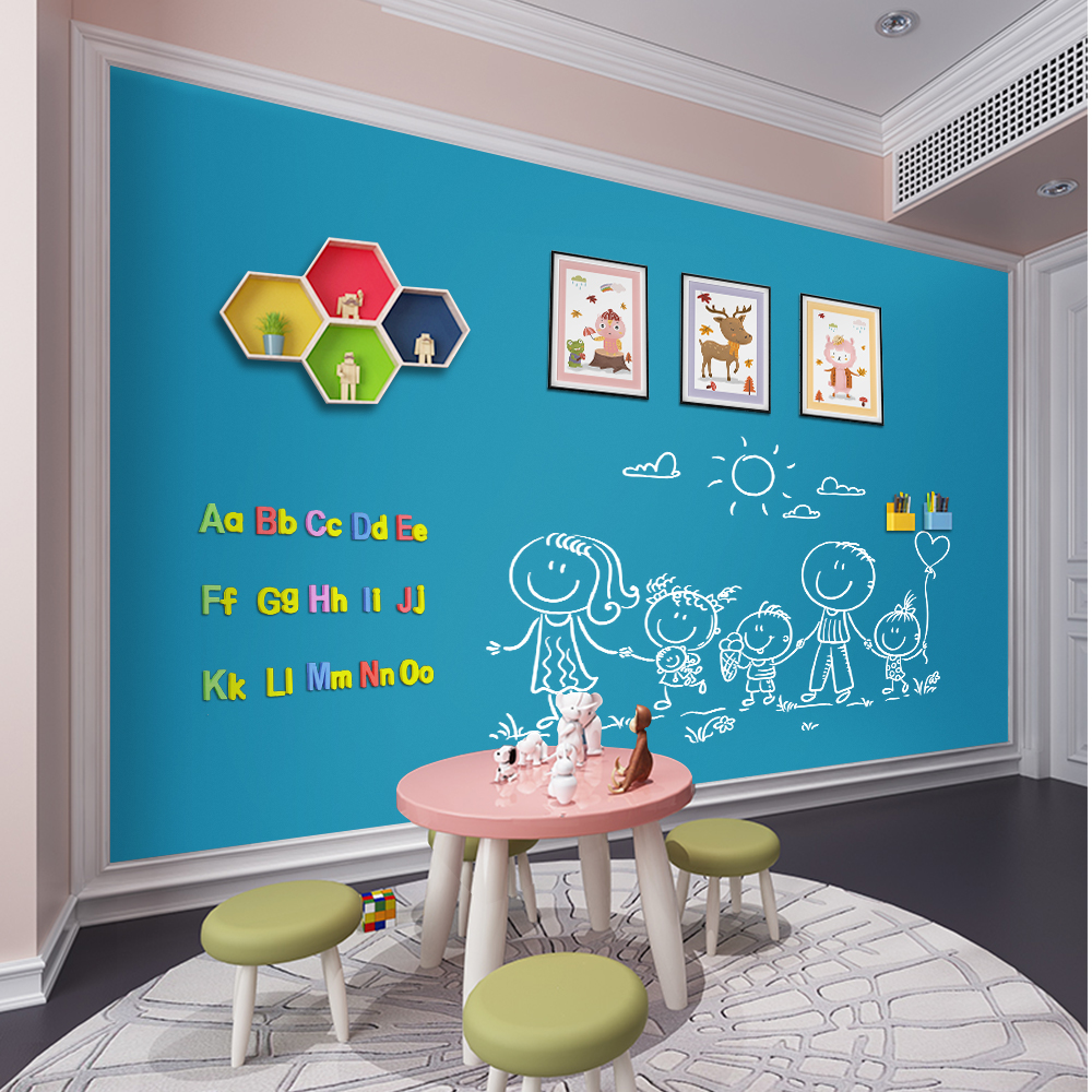 Hold Magents Blackboard Magnetic ChalkBoard Erasable Kids Writing Graffiti Office Message Board Home Decorative Wall Sticker