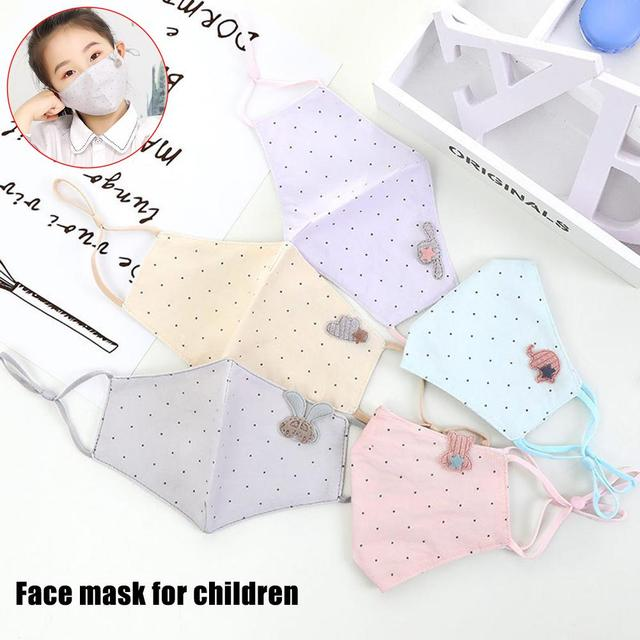 Antidust Cotton Mouth Masks For Newborn Babies Against Dust, Pollen, Allergens And Flu Germs Healthy Care Mask
