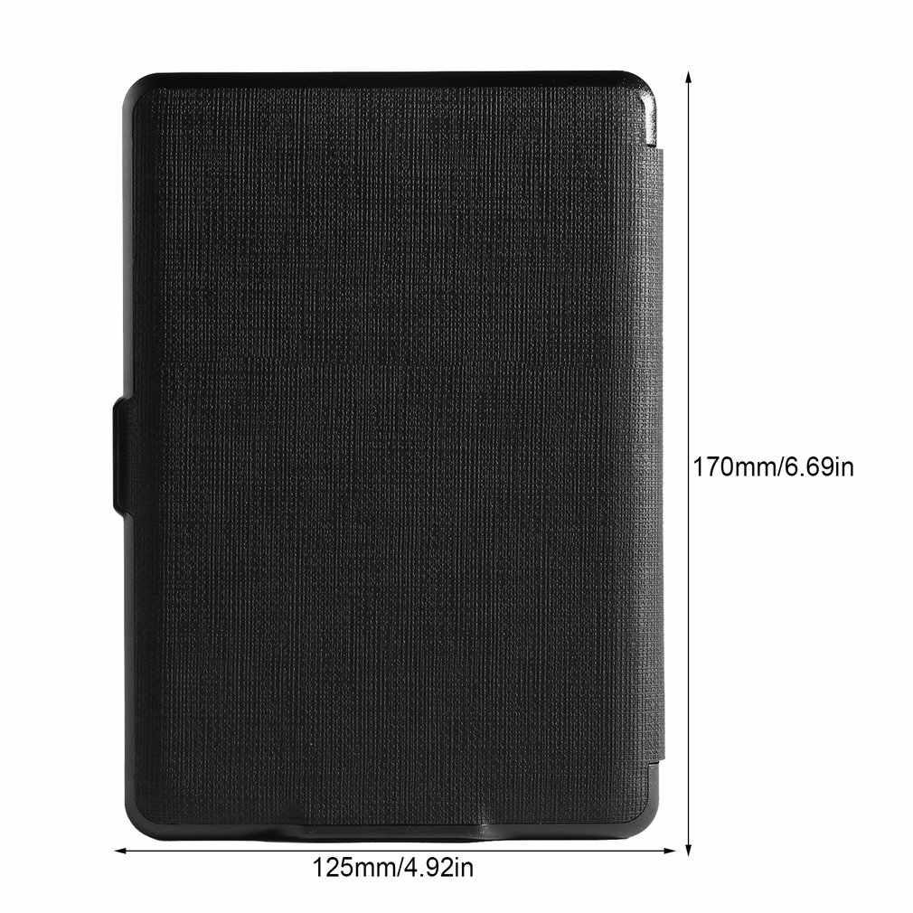 חדש Ultra Slim החכם מגנטי עור מפוצל כיסוי מקרה פגז חכם מקרה Folio כיסוי עבור אמזון קינדל Paperwhite 1/2 /3