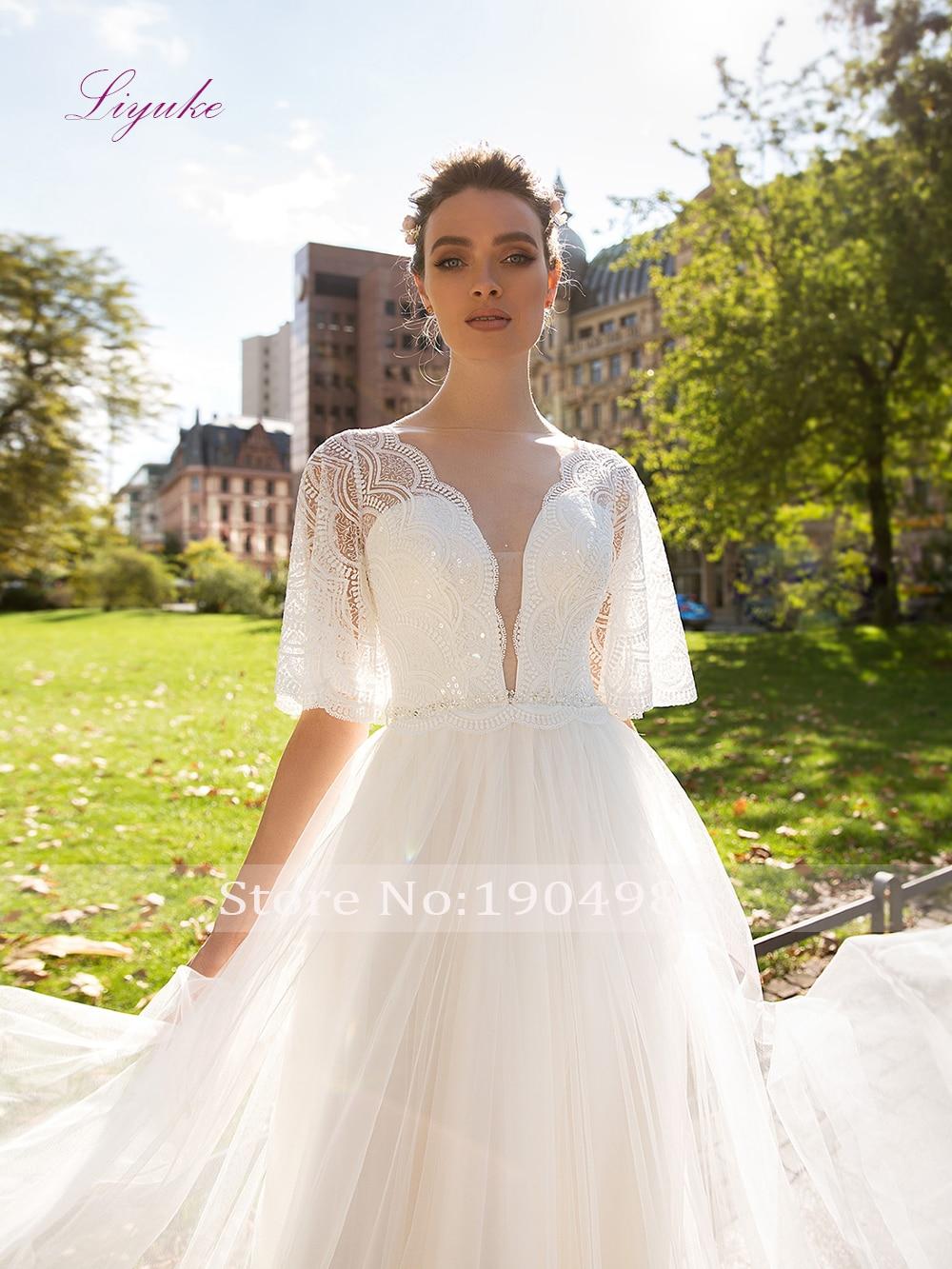 Sale 30 Liyuke 2019 Married A Line Wedding Dress
