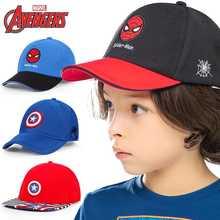 Детские шапки disney marvel кепка для мальчиков бейсболка на