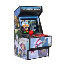 Мини аркадная игра машина ручной Перезаряжаемые Ретро 16 бит