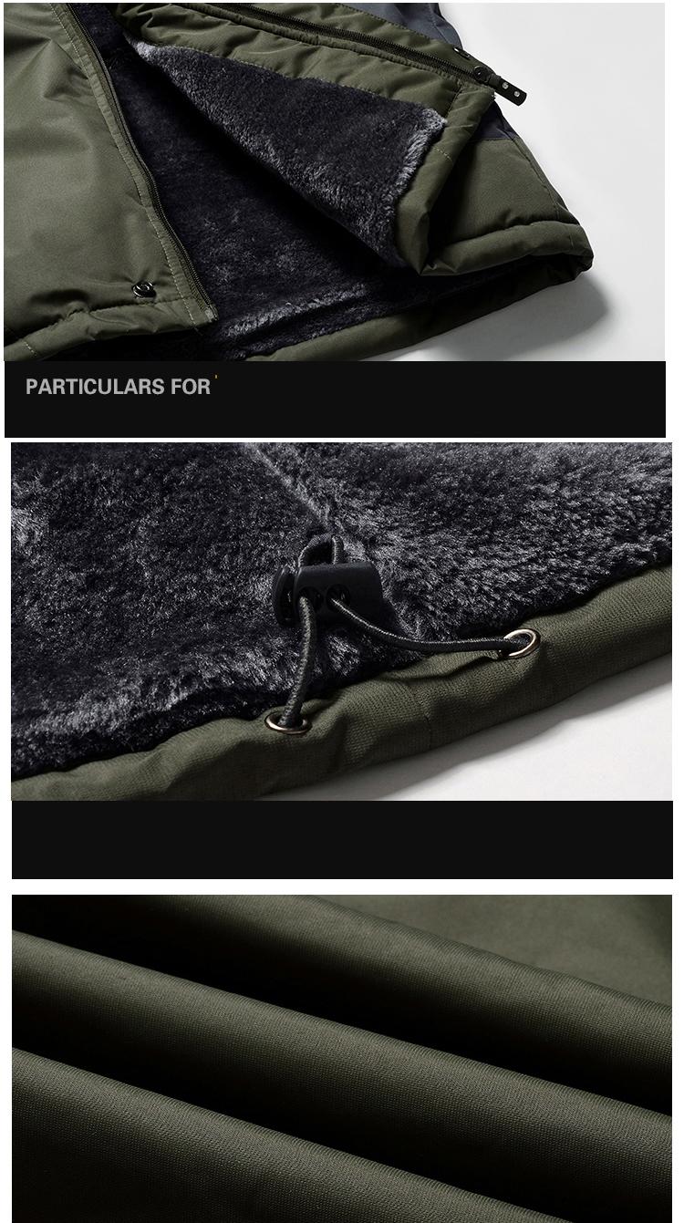 Winter Fleece Military Hiking Jackets Coat (16)