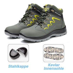 Image 5 - BAOLESEM Man Safety Shoes Mens Winter Safety Male Work Shoes Water proof Work Sneaker Anti smashing Safety Shoes for Men