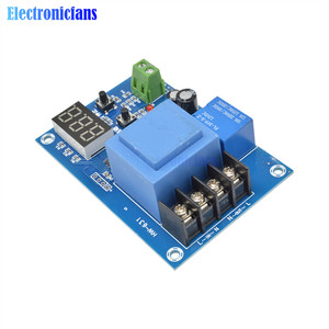 Image 5 - XH M602 Digital Control Battery Lithium Battery Charging Control Module Battery Charge Control Switch Protection Board 3.7 120V