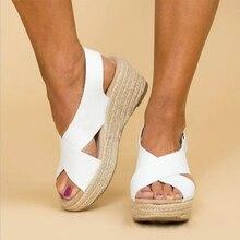 2020 Wedges Shoes For Women High Heels Sandals Summer