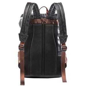 Image 5 - VICUNA פולו פשוט טלאים גדול קיבולת Mens עור תרמיל נסיעות מזדמן המוצ ילה גברים Daypacks עור Travle תרמיל
