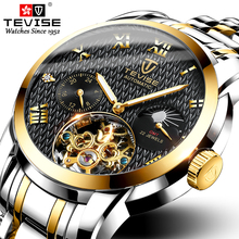 TEVISE Luxury Brand Mens Watches Automat