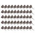 50 шт Пластиковые Посадки удобрения корзины бонсай инструмент удобрения с крышкой Прямая поставка-кофе S/M/L Размер