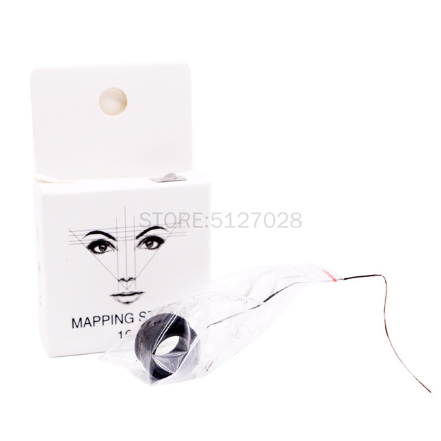 10m Microblading Mapping String Pre-Inked Eyebrow Marker thread Tattoo Brows Point Line Tool Eyebrow Pencil Marking Line 5